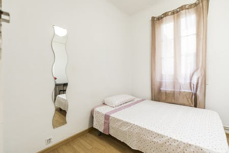 Private room for rent from 31 Jul 2020 (Calle del Conde de Romanones, Madrid)