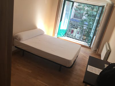 Private room for rent from 10 Jul 2019 (Calle del Conde de Romanones, Madrid)