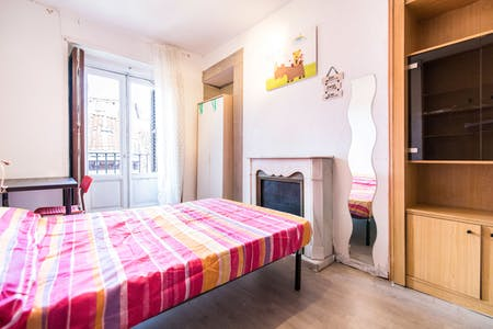 Private room for rent from 30 Jun 2019 (Calle de San Millán, Lavapiés)