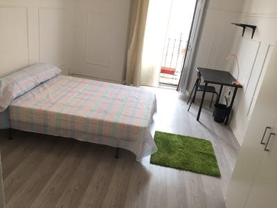 Private room for rent from 25 Aug 2019 (Calle Olivar, Madrid)