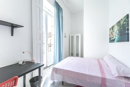 Private room for rent from 31 Dec 2019 (Calle Olivar, Madrid)