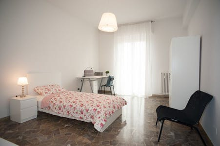Private room for rent from 23 Mar 2019 (Via Quintino Sella, Florence)