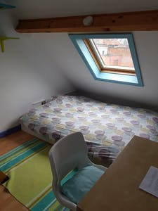 Private room for rent from 24 Jun 2019 (Woeringenstraat, Antwerpen)