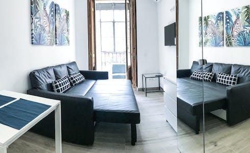 Appartement te huur vanaf 20 apr. 2019 (Calle de Sagasta, Madrid)