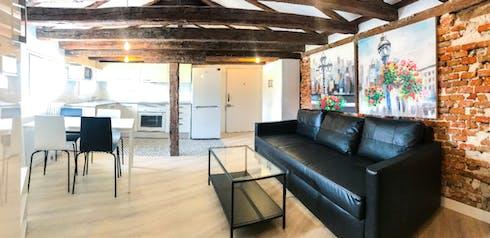 整套公寓租从16 Aug 2019 (Calle de Sagasta, Madrid)