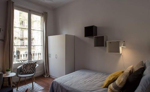 Room for rent from 01 Jun 2018 (Ronda de Sant Pere, Barcelona)