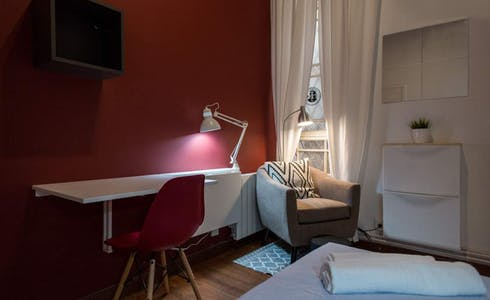 Room for rent from 01 Aug 2018 (Ronda de Sant Pere, Barcelona)