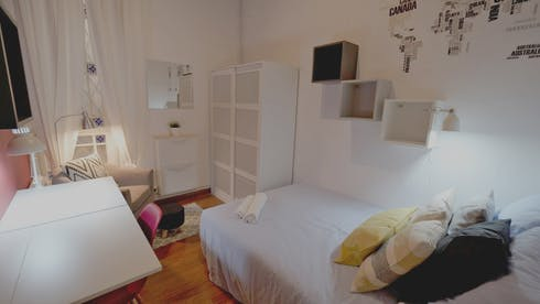 Private room for rent from 01 Mar 2019 (Ronda de Sant Pere, Barcelona)