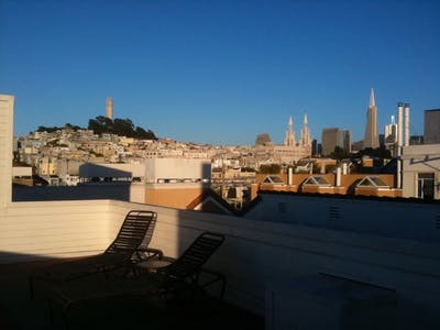 Room for rent from 15 Nov 2018 (Chestnut Street, San Francisco)