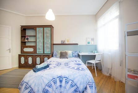Private room for rent from 01 Jan 2020 (Alberca Doktorearen Kalea, Bilbao)
