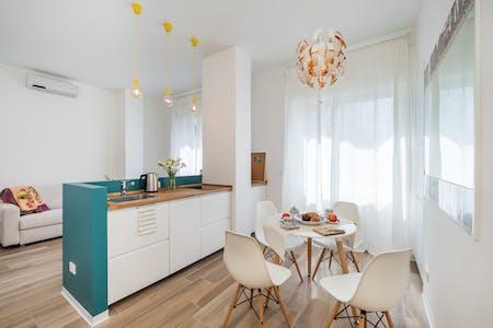 Appartement te huur vanaf 16 jun. 2020 (Via Giancarlo Sismondi, Milano)