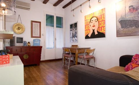 Apartment for rent from 22 May 2018 (Carrer de Sant Vicenç, Barcelona)
