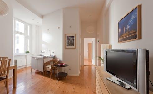 Appartement te huur vanaf 01 jun. 2018 (Gabriel-Max-Straße, Berlin)