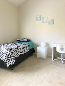 Private room for rent from 18 Jan 2019 (Charmant Drive, San Diego)