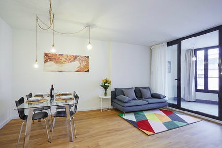 Appartement à partir du 14 mars 2019 (Carrer de Vallseca, Barcelona)