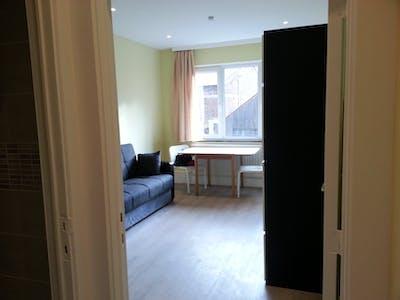 Appartement à partir du 16 août 2018 (Rue Saint-Georges, Ixelles)