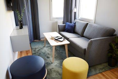 Appartement à partir du 16 août 2018 (Torshamnsgatan, Kista)