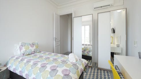 Private room for rent from 17 Dec 2018 (Gran Via de les Corts Catalanes, Barcelona)