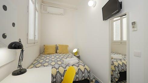 Privé kamer te huur vanaf 07 apr. 2020 (Gran Via de les Corts Catalanes, Barcelona)
