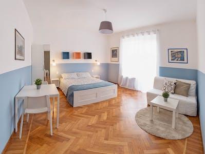 Private room for rent from 01 Aug 2019 (Via Giovanni Carlo Cavalli, Torino)