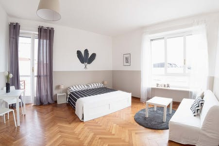 Room for rent from 24 Dec 2018 (Via Giovanni Carlo Cavalli, Torino)