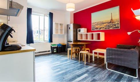 Wohnung zur Miete von 01 Sep. 2019 (Rue des Compagnons, Schaerbeek)