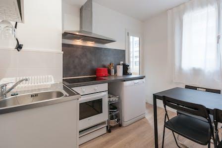 Private room for rent from 20 Jan 2020 (Boulevard de la Fédération, Marseille)
