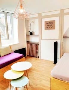 Apartamento de alquiler desde 16 Jun 2019 (Rue du Vert Bois, Lille)