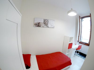 Room for rent from 01 Jan 2020 (Via della Cernaia, Florence)
