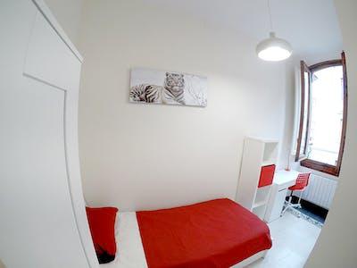 合租房间租从01 1月 2019 (Via della Cernaia, Florence)
