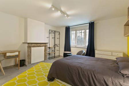 Private room for rent from 01 Jul 2020 (Rue Félix Delhasse, Saint-Gilles)