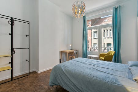 Room for rent from 01 Feb 2019 (Rue Félix Delhasse, Saint-Gilles)