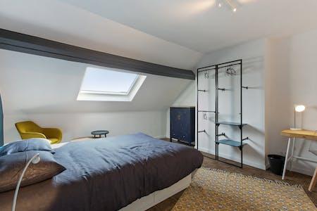 Stanza privata in affitto a partire dal 01 Jul 2020 (Rue Félix Delhasse, Saint-Gilles)