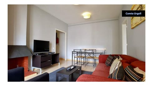 Apartment for rent from 03 Sep 2018 (Carrer Comte d'Urgell, Barcelona)