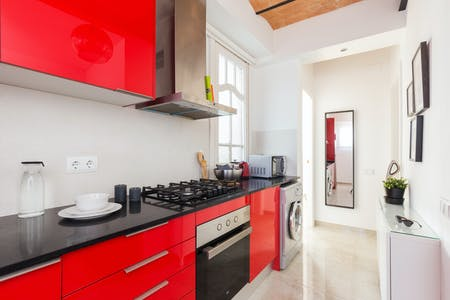 Apartment for rent from 19 Mar 2019 (Carrer Nou de la Rambla, Barcelona)