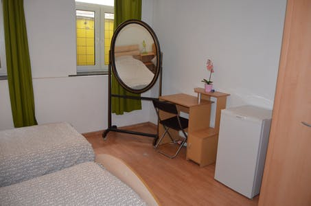 Private room for rent from 01 Mar 2019 (Poststraat, Schaarbeek)