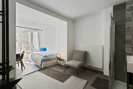 Private room for rent from 01 Jun 2019 (Rue François Roffiaen, Ixelles)