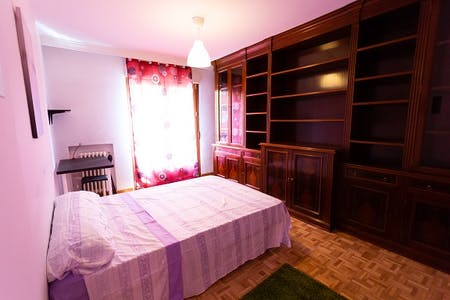 Private room for rent from 01 Aug 2019 (Calle de Lavapiés, Madrid)