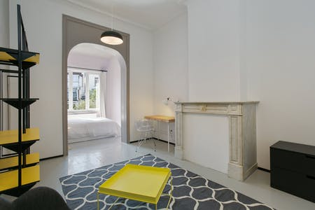 Private room for rent from 01 Mar 2019 (Rue François Roffiaen, Ixelles)