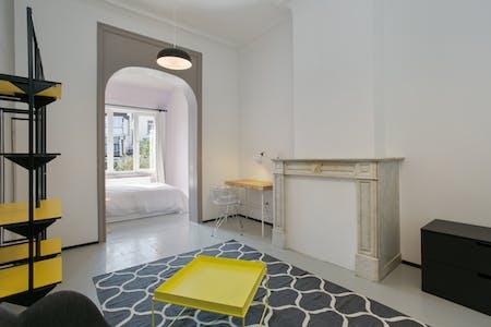 Quarto privativos para alugar desde 01 Oct 2020 (Rue François Roffiaen, Ixelles)