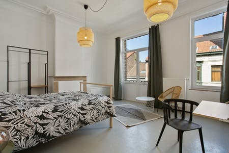 Private room for rent from 01 Feb 2020 (Rue François Roffiaen, Ixelles)