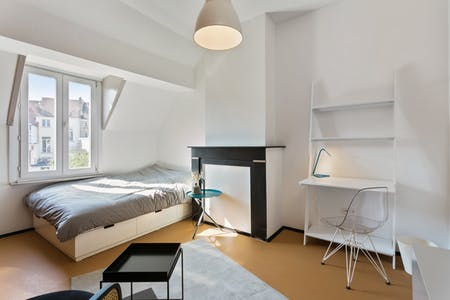 Private room for rent from 01 Jan 2020 (Rue François Roffiaen, Ixelles)