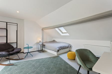 Private room for rent from 01 Mar 2020 (Rue François Roffiaen, Ixelles)