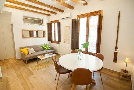 Wohnung zur Miete ab 01 Aug. 2020 (Carrer del Baluard, Barcelona)