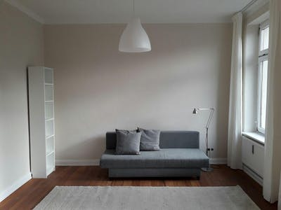 Private room for rent from 24 Mar 2019 (Haakestraße, Hamburg)