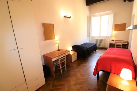 Shared room for rent from 01 Feb 2019 (Via Ghibellina, Florence)