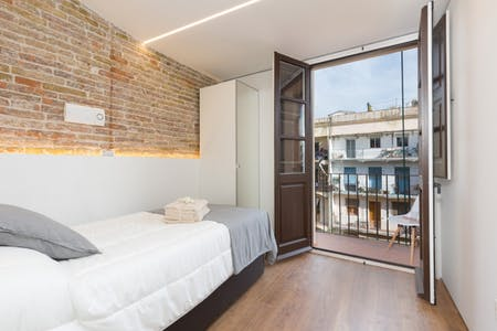Apartment for rent from 07 Apr 2019 (Carrer de Sant Pau, Barcelona)
