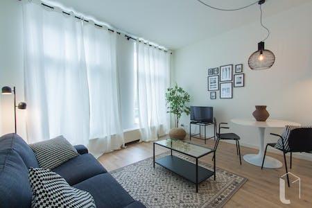 Apartamento para alugar desde 01 fev 2019 (Nieuwe Binnenweg, Rotterdam)