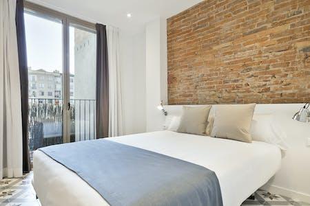 Appartement te huur vanaf 09 okt. 2018 (Carrer de València, Barcelona)