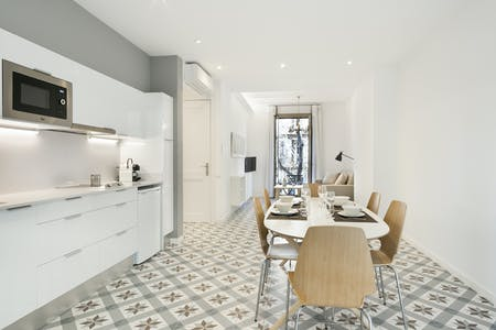 整套公寓租从30 Aug 2019 (Carrer de València, Barcelona)